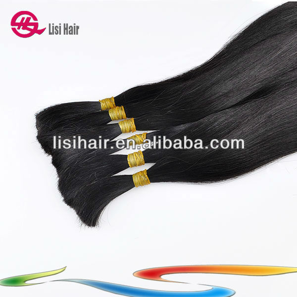 5a Custom Anything Big Sale Fast Selling Hotsale Big Factory 100% Human 24Inch Track Hair Braid