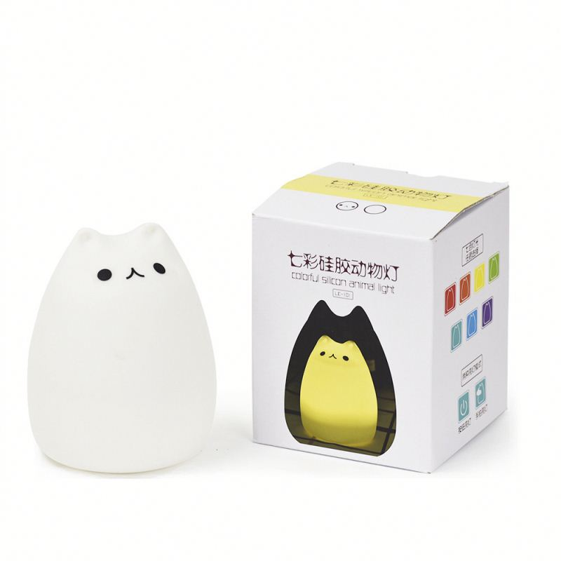 new design cute cat night light