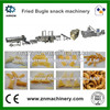 Hot Sale Twin Screw Extruded Fried Wheat Pellets Bugles Making Machine