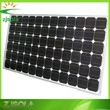 ZJSOLA 250W solar panal, high efficiency mono solar pv modules for home use