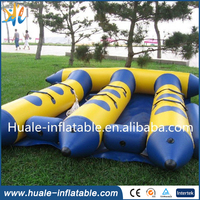 flying inflatable water sled giant inflatable water fruit tube for sale