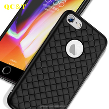 New design for Iphone 8 mobile phone case, woven design tpu back cover