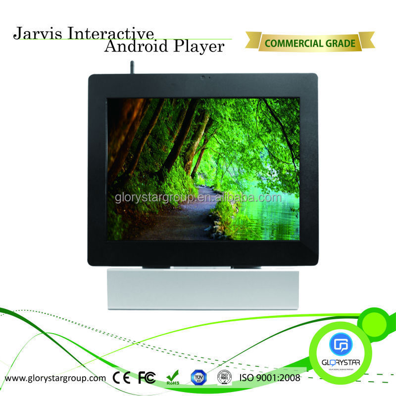 Hotsale 22 inch Touch screen kiosk with keyboard for commercial information and advertising kiosk