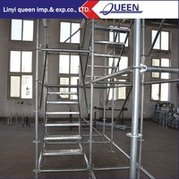 Quickly use Galvanized Ringlock Scaffolding hanging scaffold