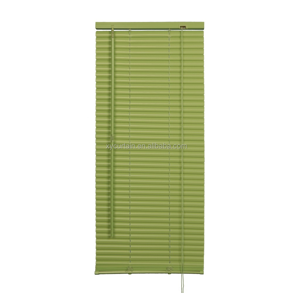 "1"" pvc mini garage window blinds"