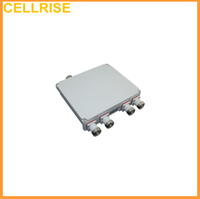 380-960/1710-1880/1920-2170/2400-2700MHz Quad-Band Quadplexer Combiner