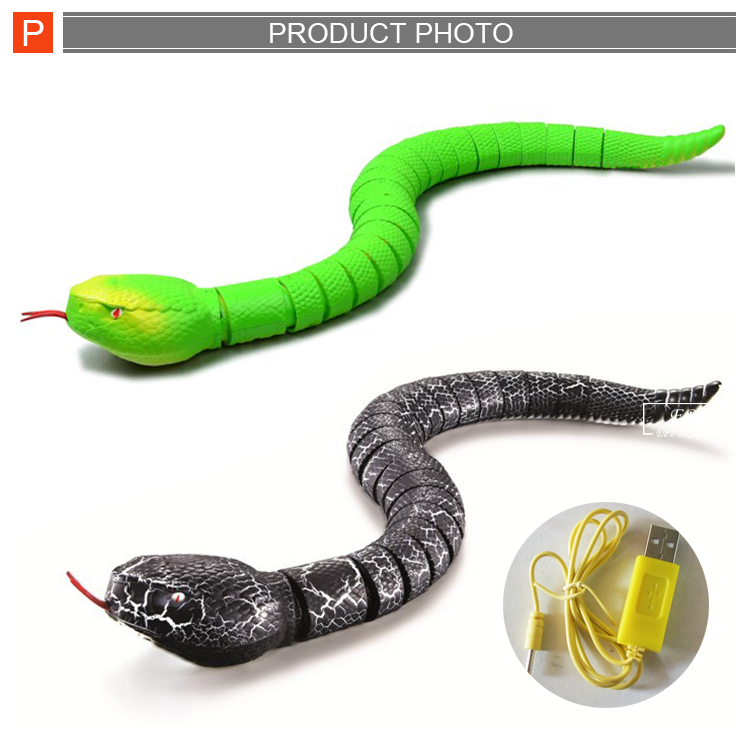 High quality education remote control infrared snake toy with battery and usb charger for sale.png