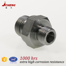 hydraulic steel, brass, stainess steel pipe fitting straight reducer