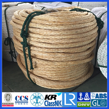12 strands UHMWPE braide ROPE / synthetic winch rope