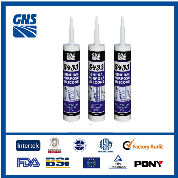Good glue rapid evaporation good performance silicon sealant