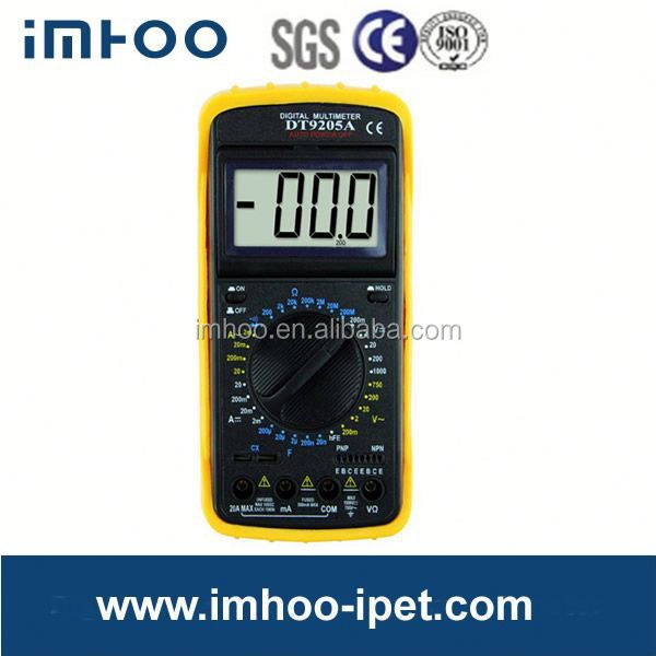 Digital Display DT9205A dual digital multimeter