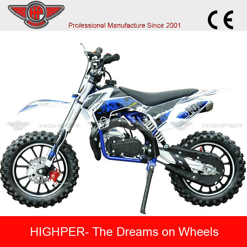 2 Stroke 49cc Off Road Dirt Bike For Kids with Steel Frame(DB710)
