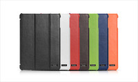 Genuine Leather Smart Case Cover For Apple iPad mini 1/2/3 With Fold Stand