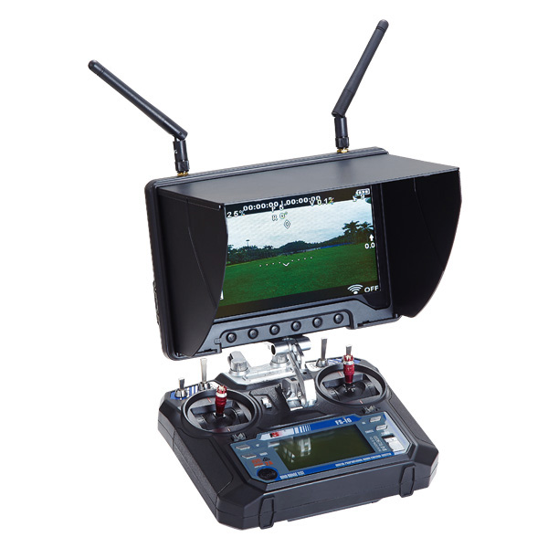 Professional High Bright Aerial Photography Video Monitor With Duo 5.8G Rx