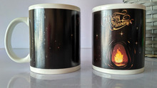Magic Temperature Sensitive Color Changing Merry Christmas Coffee Mug