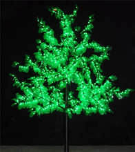 Artificial trees Landscape LED tree light artificial flower cherry blossom outdoor christmas laser lights