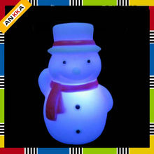 Christmas snow man decoration led flashing light