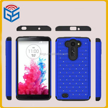 Popular Products In Malaysia For LG G Pro 2 Lite Silicone+PC Bling Case For LG G Vista VS880 D631