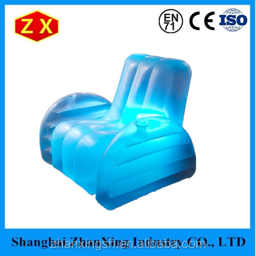 Customized Design Most Popular Elegant PVC Inflatable Bubble Sofa Chairs With Led Light