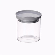 Straight Side Wide Mouth 400ML Glass Food Jar