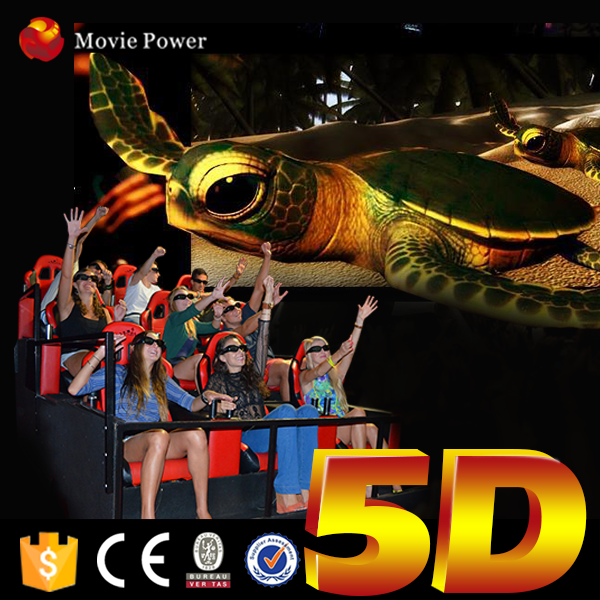 Hot sale 5d cinema 5d home theater system 4d motion cinema seat