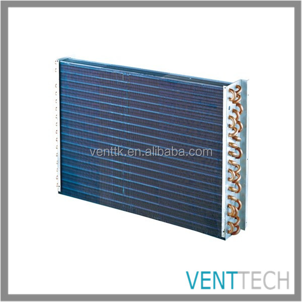 copper double tube air cooled condenser static breeze air evaporative cooler