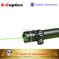 long distance gun sight green laser sighting telescope