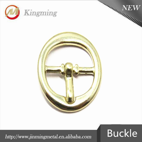 11mm Gold Oval Small Pin Shoe Buckles For Lady Shoes
