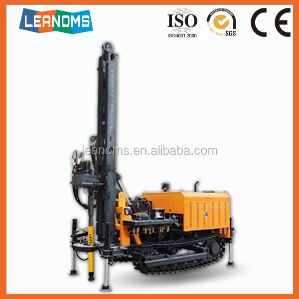 China Ingersoll Rand mining rock portable hydraulic water well drilling rig for sale