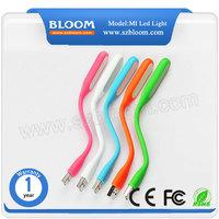 2015 hight quality flexible led usb light portable mini usb led book lamp for power bank PC