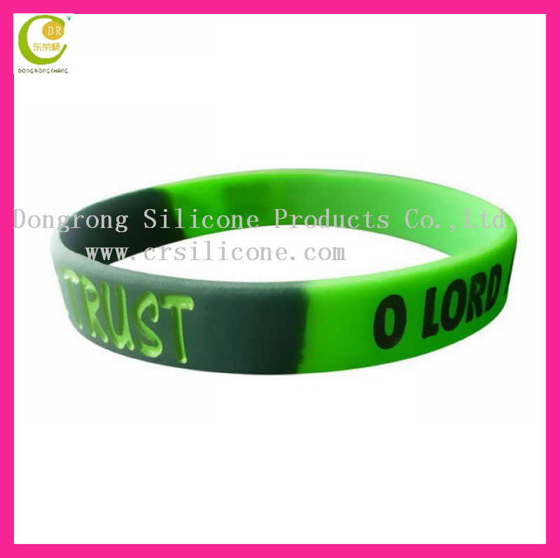 Most popularly silicone rubber 2012 olympics wristband