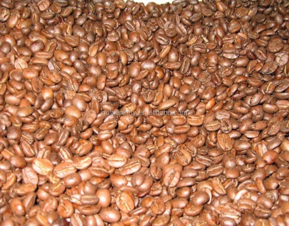 roasted coffee beans/arabic and robusta