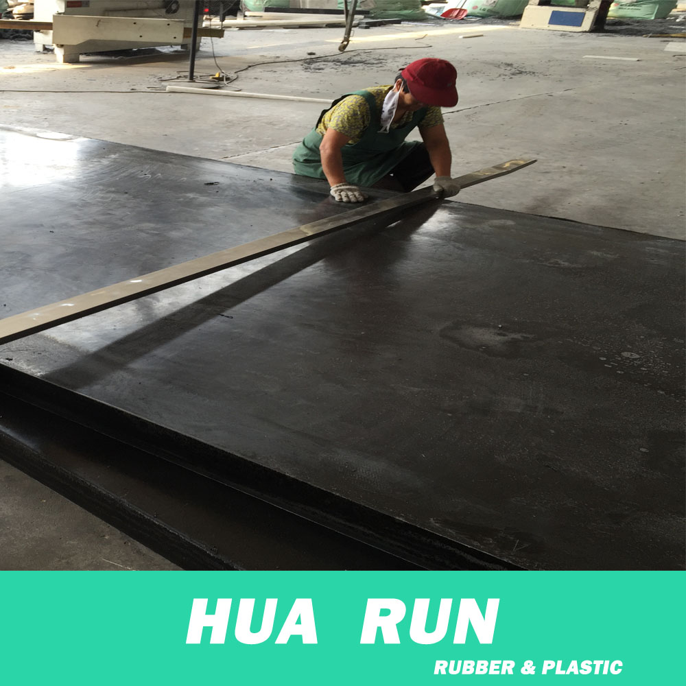 High impact black recycled hdpe /hdpe recycled material plastic sheet