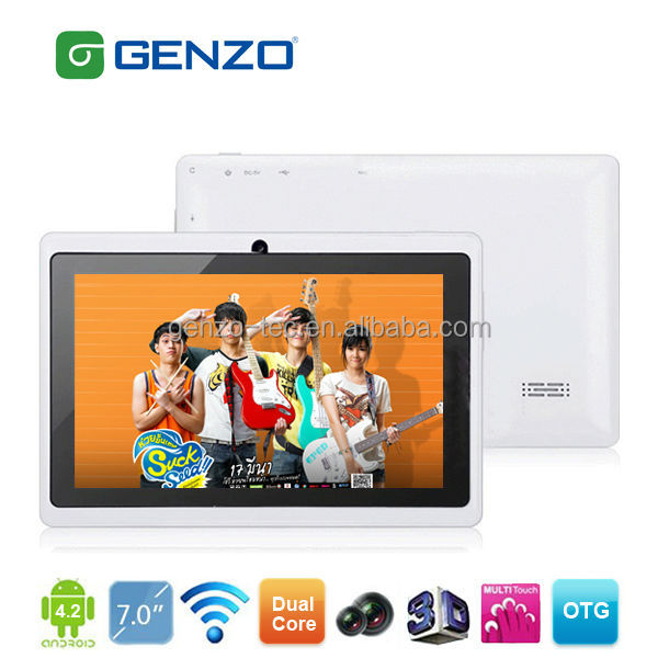 Promotion cheap multi touch capacitive screen 7 inch tablet pc