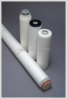 PP Membrane folded filter cartridge/ PP pleated filter cartridge in great price