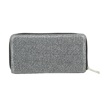 Fashion silver wallet for women