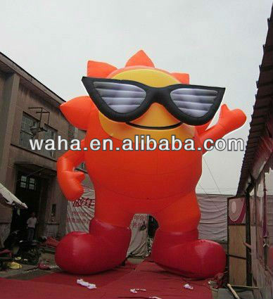 2013 new product advertisement inflatable cartoon