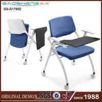 GS-1795D popular office chair folding arms, nylon office chair caster