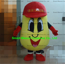 Good visual potato mascot costume lovely red hat potato costume potato life size adult potato costume for sale