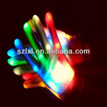 LED Flashing Gloves
