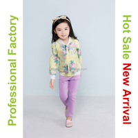 Guangzhou brand name kids clothes for girls