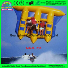 2016 Exciting Water Sled Tube Flying A Kite Inflatable Banana Boat Fly Fish Boat