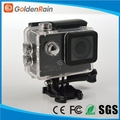 "NTK 96660 imx 117 WIFI 2"" LCD 170 Degree Wide Angle FPV 30M Waterproof wifi 4 K action camera"