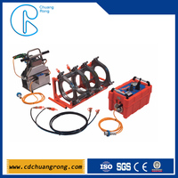Delta Dragon 315 Butt HDPE plastic pipe jointing machine