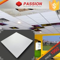 Factory Supply Suspended Aluminum Ceiling Tile Perforated Sound Absorbing Board
