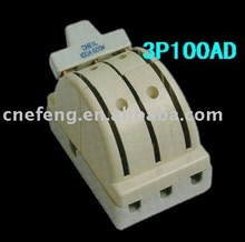 3P100A Porcelain knife switch