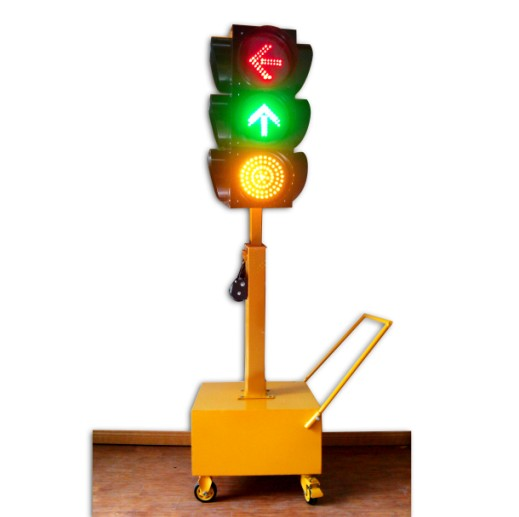 Topsafe Hot Sale LED Solar Mobile Traffic Lights