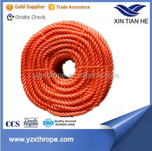 Nylon Diamond Twisted 6mm 3 strands marine rope
