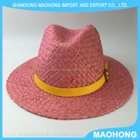 knitted panama straw hat