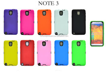 3 inch 1 hybird Mobile Phone Skin for samsung galaxy note 3 silicon cell phone case plastic phone cover